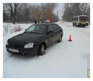 Молодой водитель сбил мичуринского пенсионера