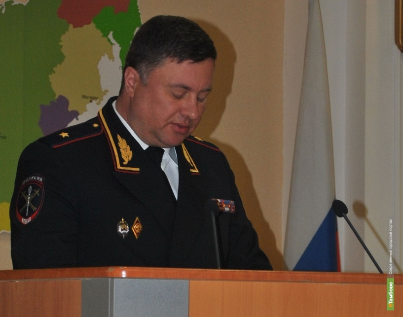 Тамбовские полицейские стали вторыми в рейтинге ЦФО