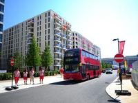 Олимпийский автобус переехал велосипедиста в парке Игр-2012