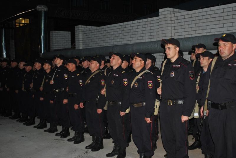 Тамбовские полицейские проследят за порядком на Северном Кавказе
