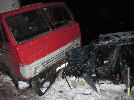 На Тамбовщине выросла дорожная аварийность