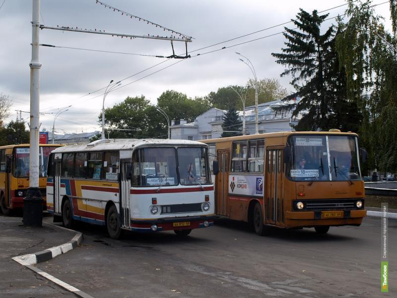 Проезд в автобусах и троллейбусах Тамбова в 2013 году не подорожает