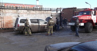 В Тамбове загорелся автомобиль INFINITI QX