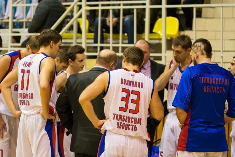 Тамбовские баскетболисты обыграли соперников из Москвы