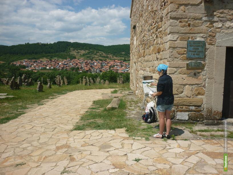 Тамбовские художницы побывали в Сербии