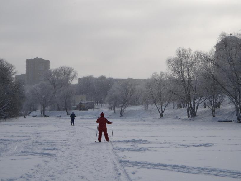 До конца недели в Тамбове продержится лёгкий морозец