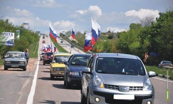 Участники олимпийского автопробега посетили Тамбов