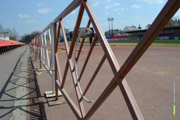 Стадион «Спартак» в Тамбове реконструируют