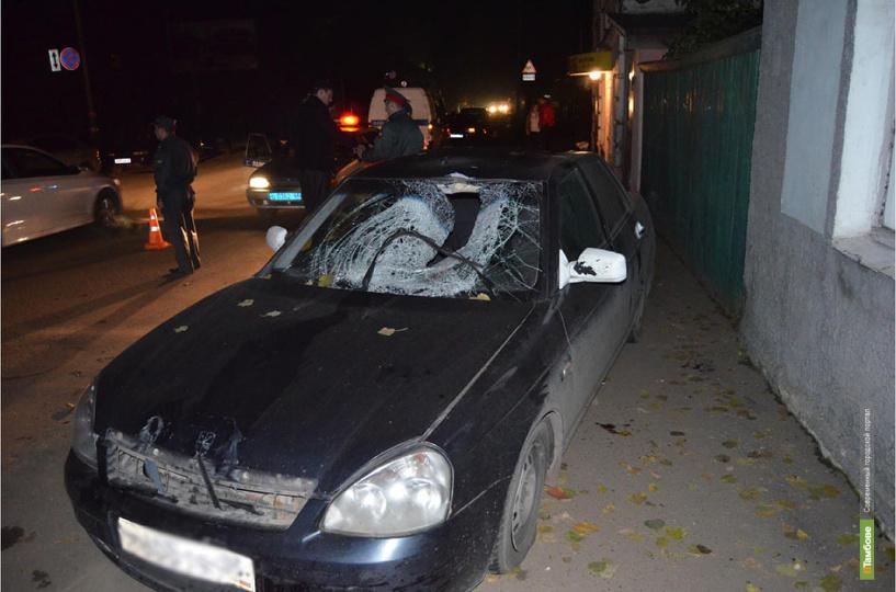 В Мичуринске лихач на легковушке сбил 24-летнего пешехода