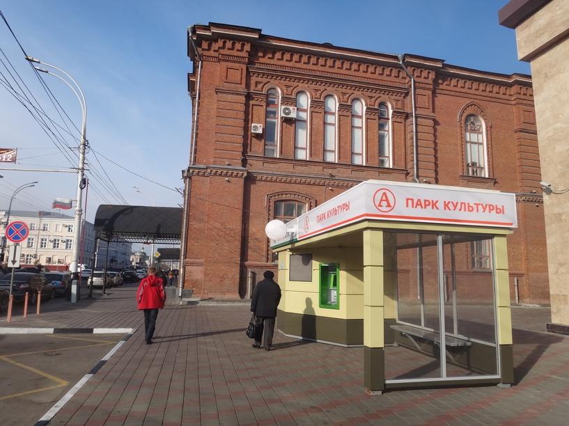В центре Тамбове две автобусные остановки объединили в одну