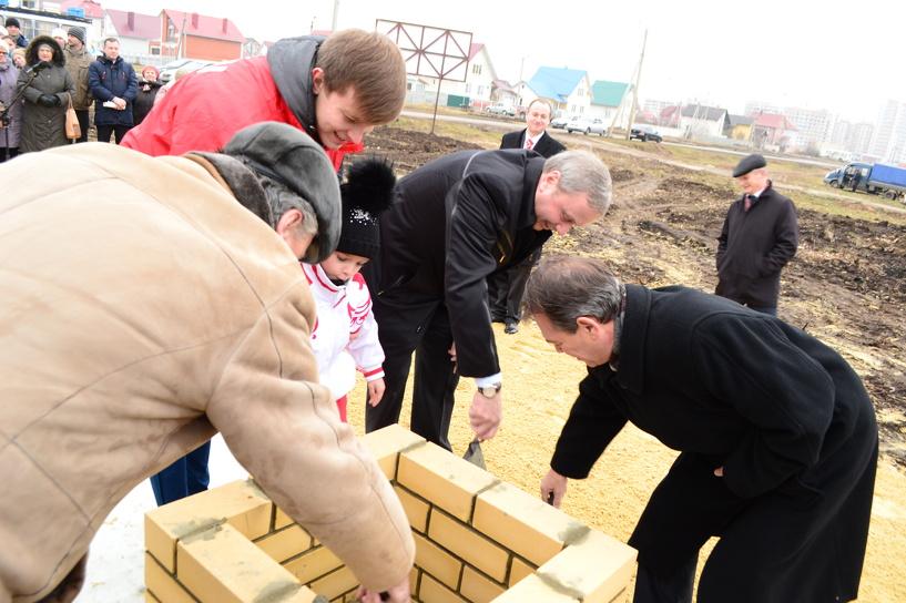 В Тамбове начались работы по обустройству «Олимпийского парка»