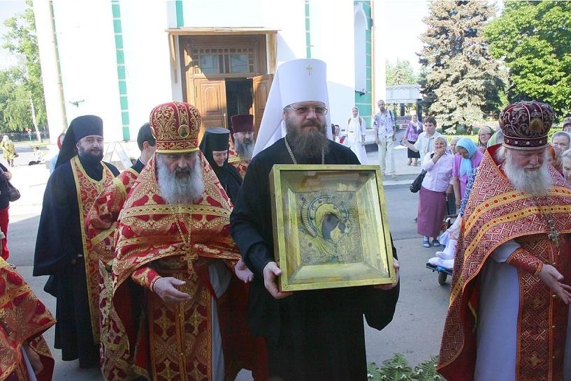 Тамбовчане могут помолиться возле чудотворной Вышенской иконы Божией матери
