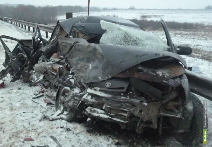 На тамбовской трассе в ДТП погибли два человека