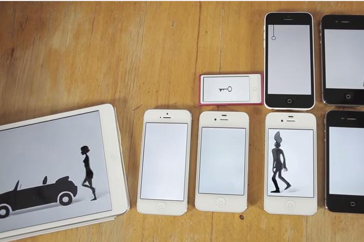Украинская группа взорвала Youtube клипом на 14 гаджетах Apple