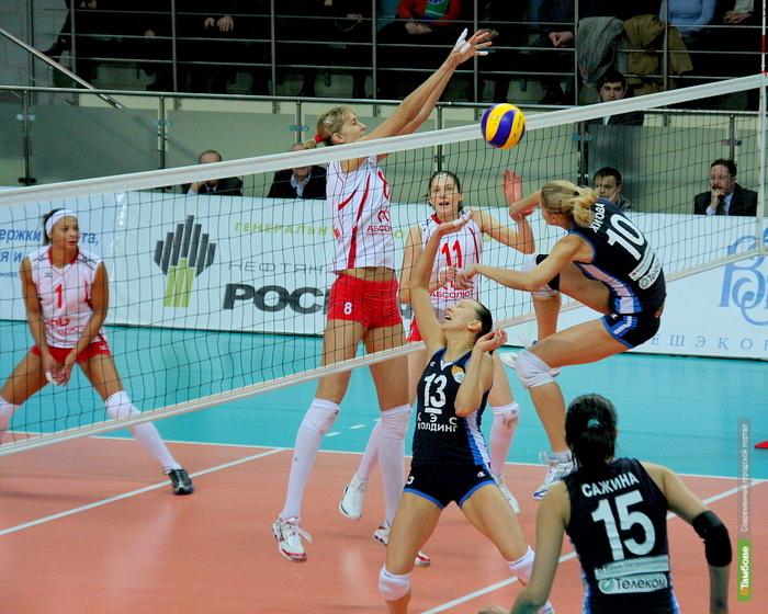 «Тамбовчанка» вышла в финал чемпионата студенческой волейбольной лиги