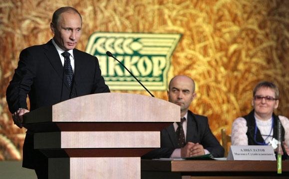 Тамбовский губернатор пообещал премьеру Путину производить больше мяса