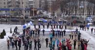Студенты-державинцы устроили флешмоб в честь юбилея вуза