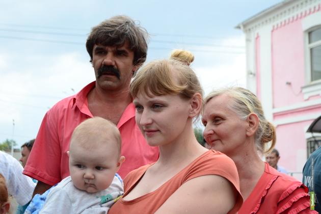 На тамбовской земле у украинских беженцев родились 22 малыша