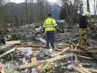 В Вашингтоне оползень уничтожил рыбацкую деревню: 14 человек погибли