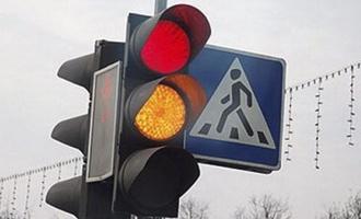 На западе Тамбова заработал светофор