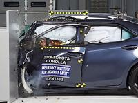 Новая Toyota Corolla провалила краш-тест
