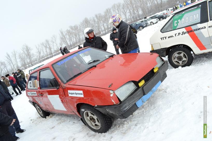 Тамбовские экстремалы выйдут на старт зимней автогонки