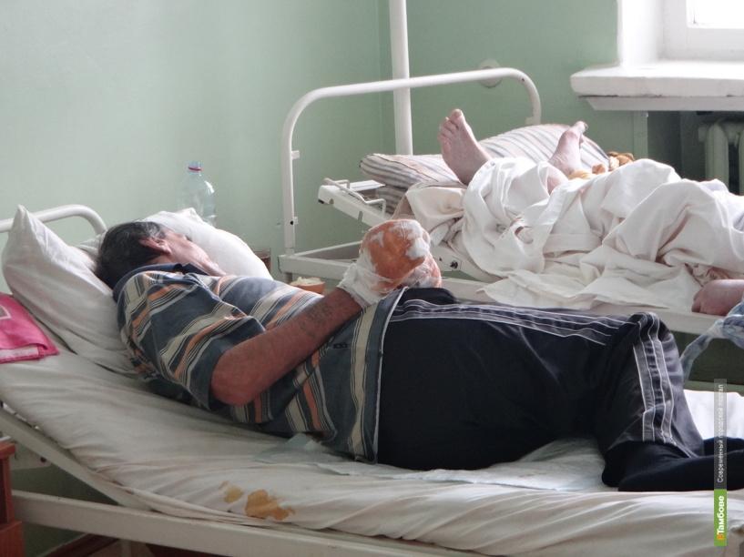 Мороз отправил на больничные койки полтора десятка тамбовчан