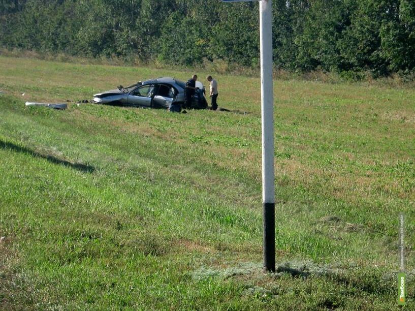 В аварии под Тамбовом погиб 24-летний парень