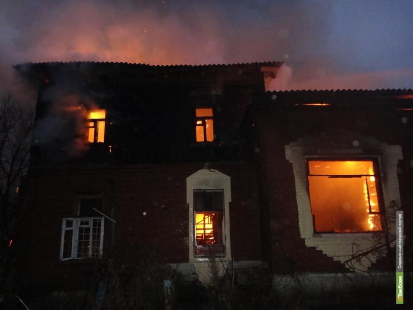 На Тамбовщине молодой человек спас из огня маленькую девочку