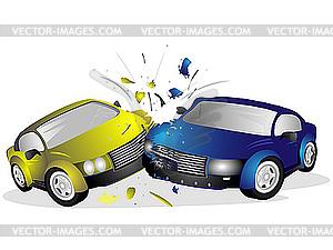 Две легковушки столкнулись на тамбовской трассе