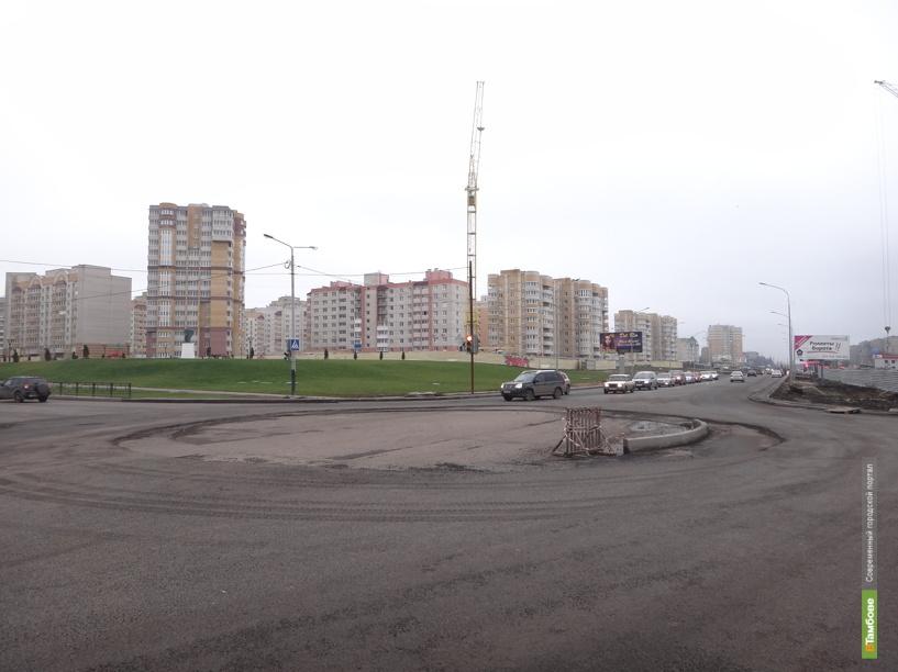 Перекрёсток улиц Мичуринской и Чичерина превращают в кольцо