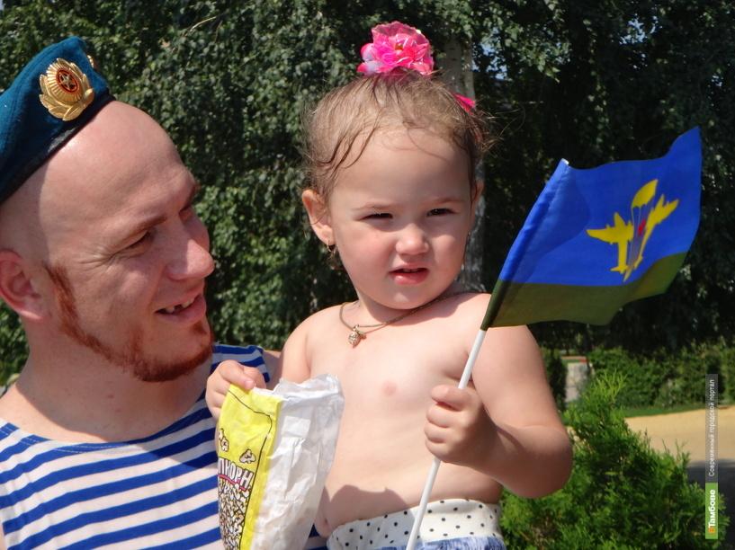 Десантники в Тамбове отмечают свой профессиональный праздник