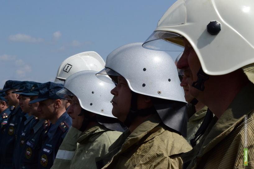 В Тамбове произошел пожар на территории военной части