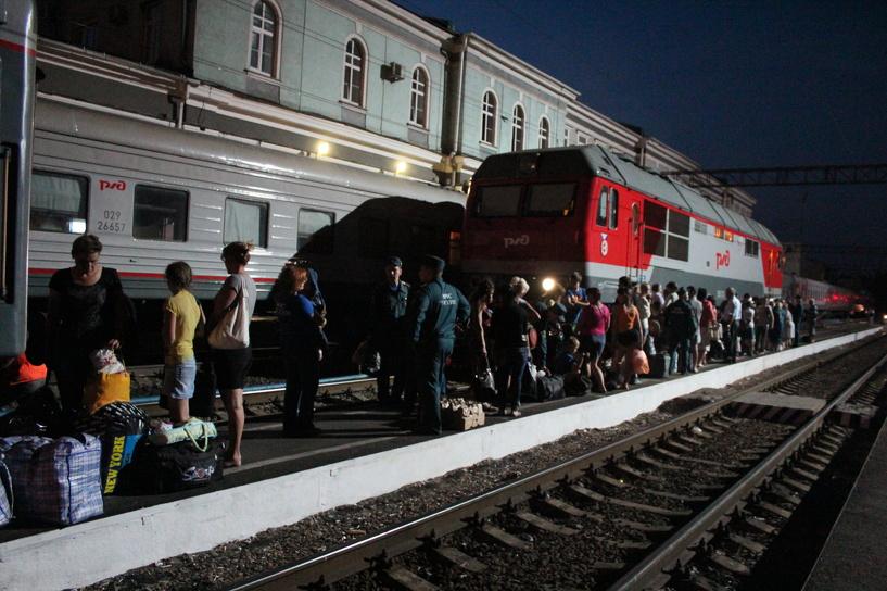 На Тамбовщину прибыла очередная группа переселенцев с Украины