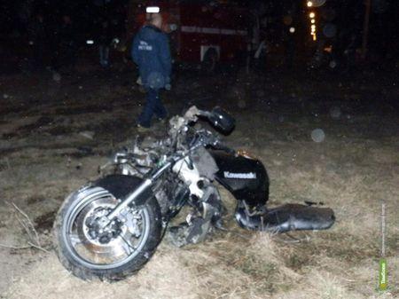 Молодой мотоциклист погиб под колесами пожарной машины