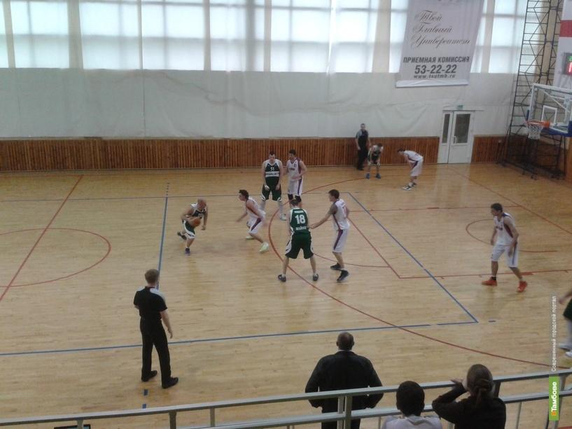 БК «Тамбов» вступает в серию плей-офф
