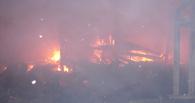 В Токарёвке во время пожара пострадал ребёнок