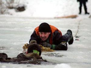 В Тамбове рыбак провалился под лед