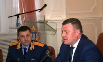 Нового главного следователя Тамбовщины официально представили коллегам