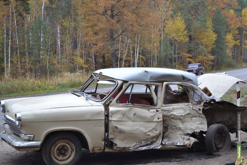Под Тамбовом в аварии погибли 4-летний ребенок и пенсионерка