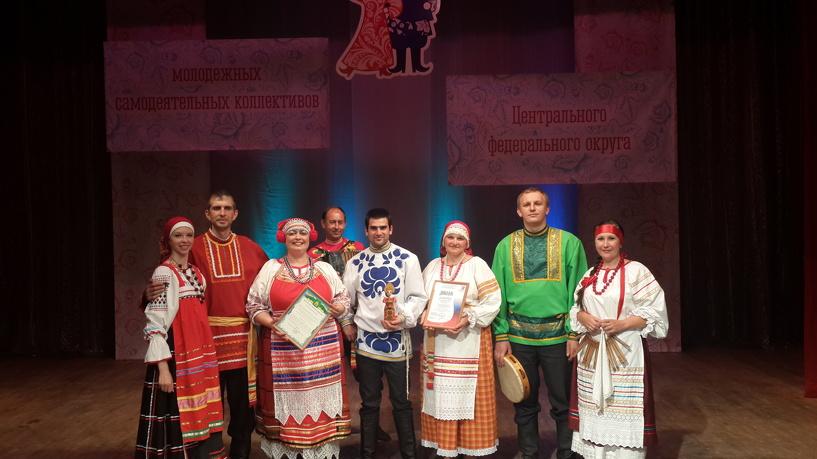 Тамбовский коллектив «Наследие» победил на конкурсе в ЦФО