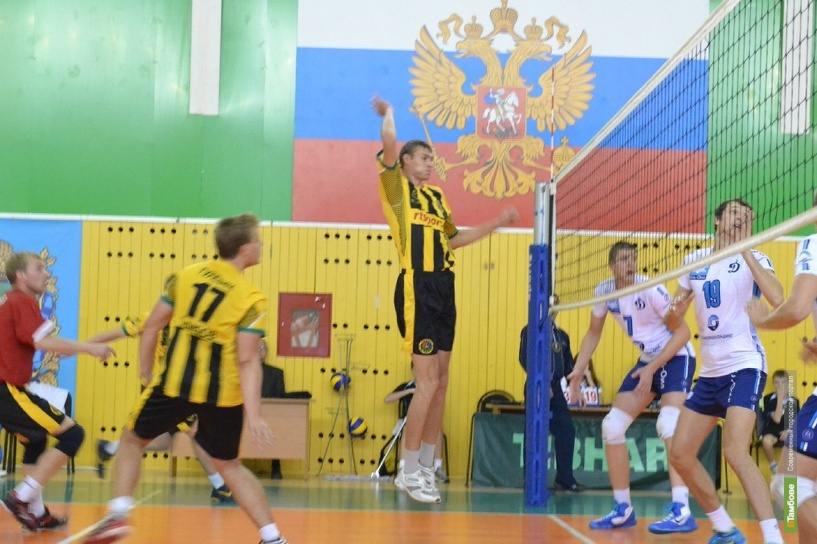 ВК «Тамбов» одержал три победы на Смоленщине