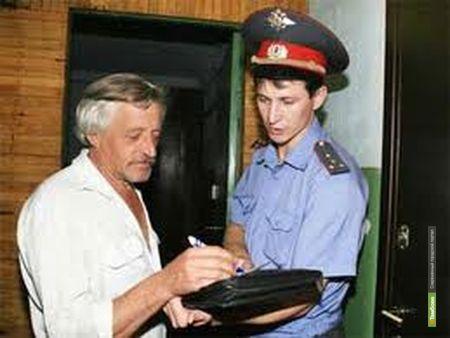 Полицейские в Тамбове заглянут в каждый дом