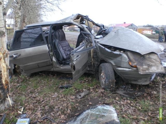За неделю на Тамбовщине в ДТП погибли пять человек