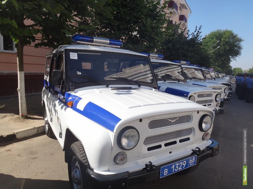 В Тамбове полицейские задержали угонщика