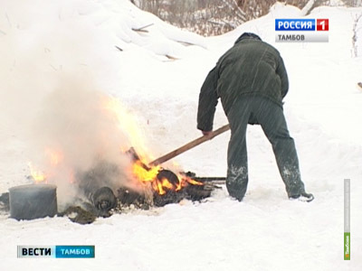 Наркополицейские Тамбовщины сожгли 24 килограмма наркотиков