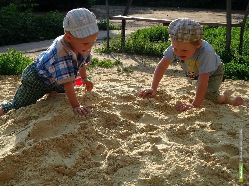 В тамбовском детсаду малыши играли под ЛЭП