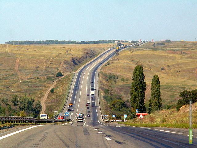 В Тамбовской области закончили ремонт участка трассы М-6 «Каспий» досрочно