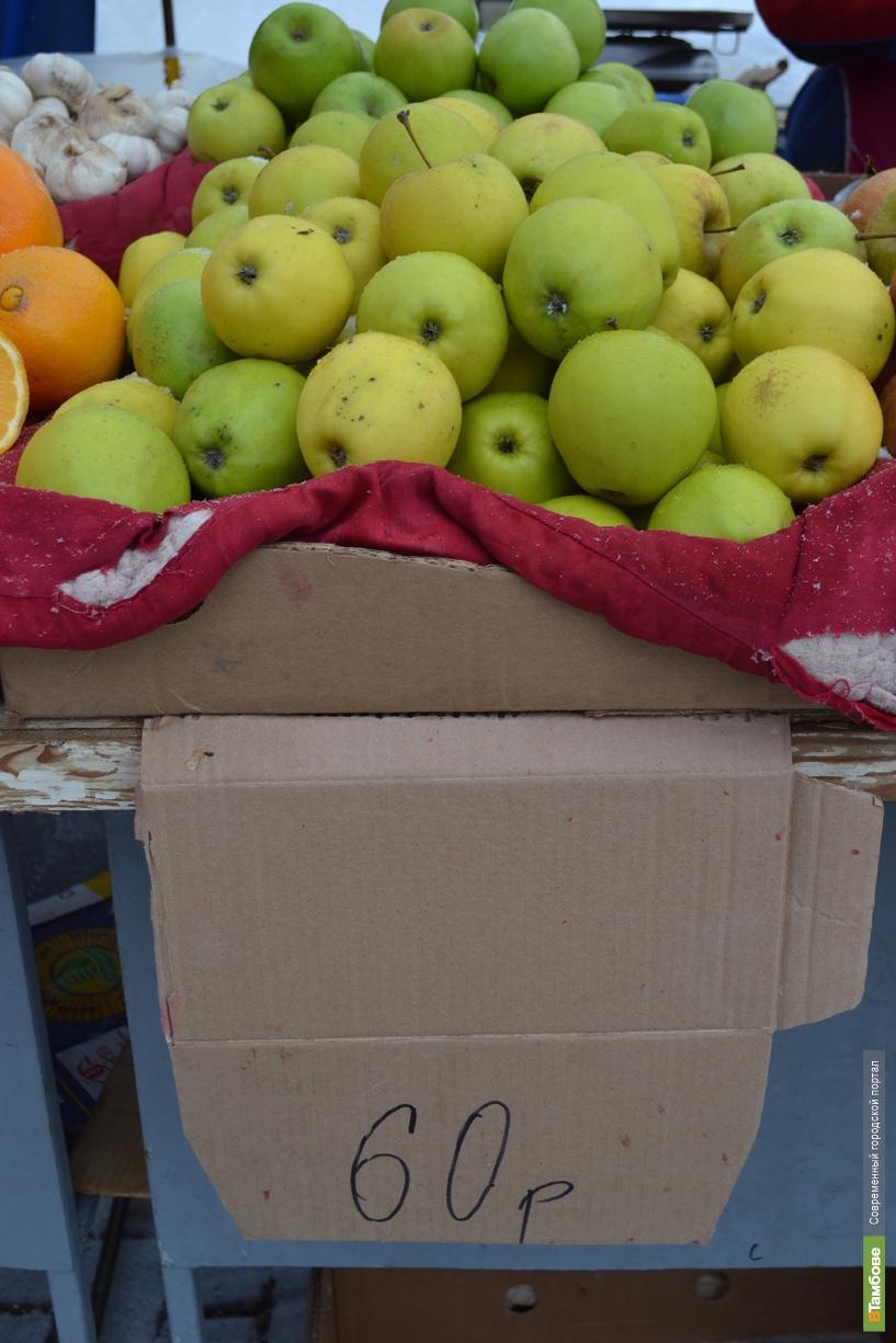 Тамбовские яблоки подешевели
