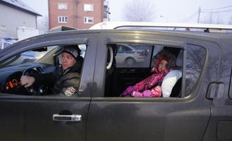 Автоинспекторы проверили, соблюдают ли тамбовчане правила перевозки детей